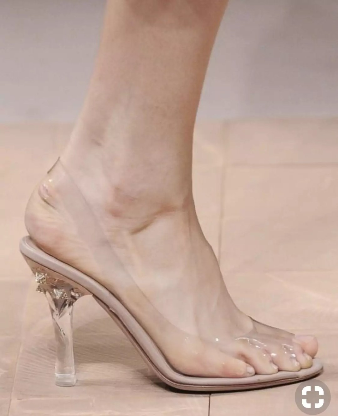 valentino clear shoes valentino see through shoes 2013 collection alley girl trend review - Who did Design the Very First Clear Transparent Shoes?