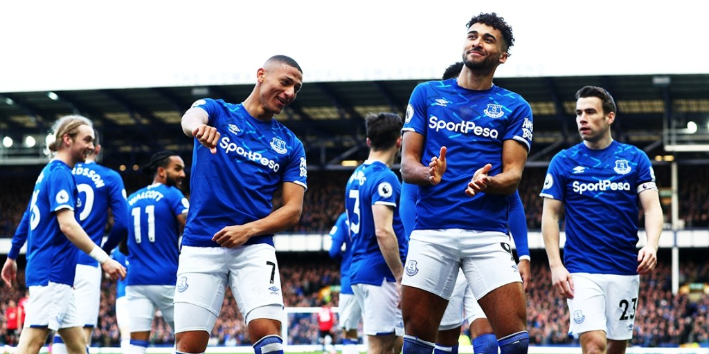 Richarlison (left) and Calvert-Lewin (right) have been Everton's biggest goal threats this season | Image: Getty Images, Everton predicted lineup vs Leeds