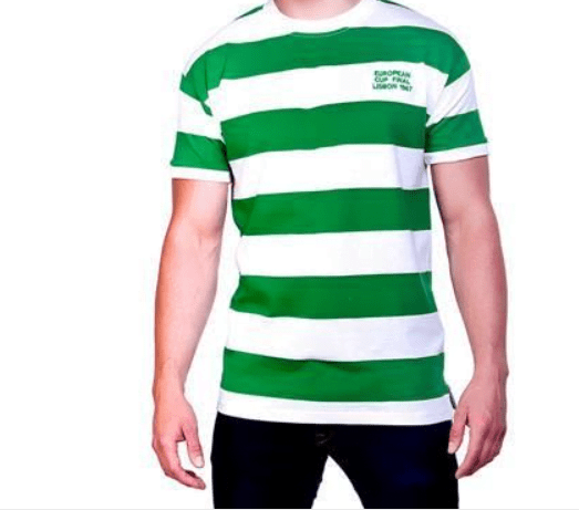 Celtic 1967 jersey makes our top 10 football retro kits.
