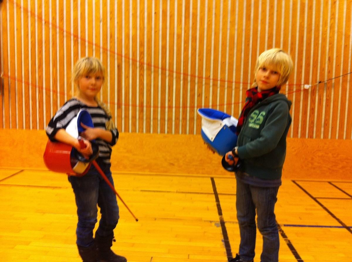 Prova på fäktning i Göteborg