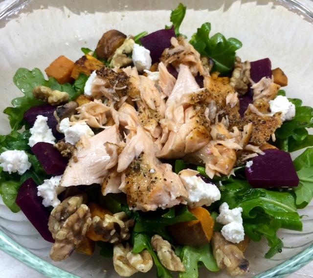 Winter Wonderland Salad (pes, gf, veg option) (1/6)
