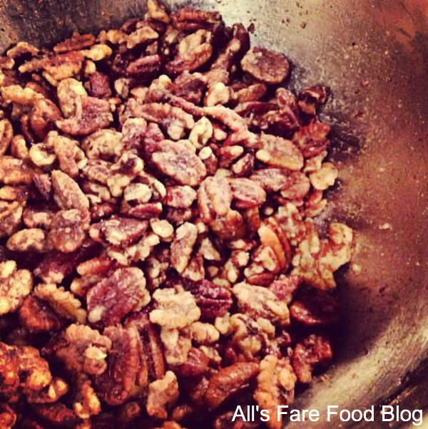 Crockpot Roasted Sugared Nuts