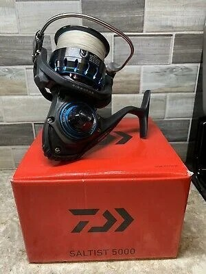 Daiwa Saltist Spinning Reel with Box