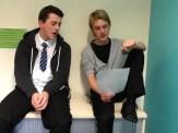 jack and michael reherasing
