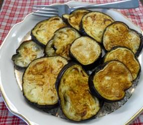 Baked Eggplant Rounds