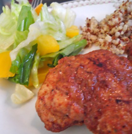 Spicy Caribbean Chicken