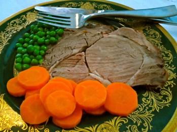 Plated Roast