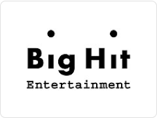Big Hit Entertainment logo in black text
