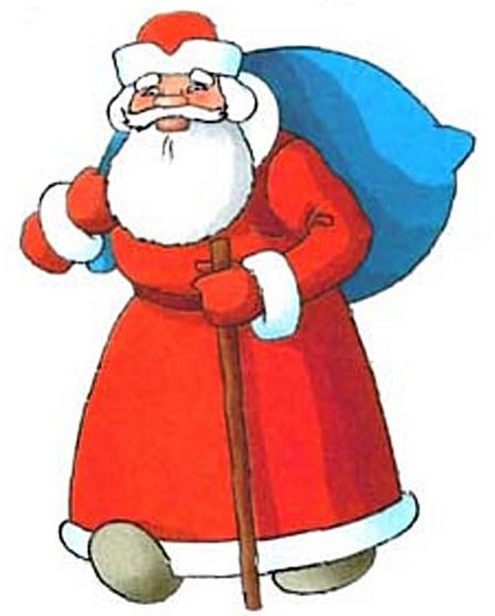 Как нарисовать Деда Мороза :: Уроки рисования для детей