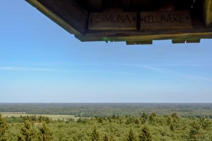 Vaade Emumäe vaatetornist