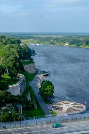 Vaade Narva PIka Hermanni tornist
