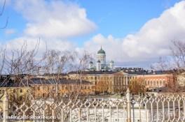 Vaade Uspenski katedraali juurest Helsinki Toomkirikule