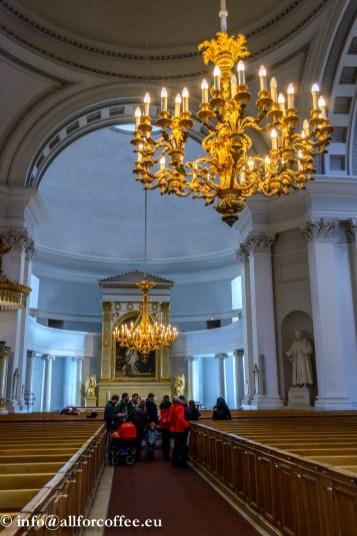 Helsinki Toomkiriku sisevaade