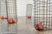 """Mona Hatoum - """"Cellules"""" 2012-13"""