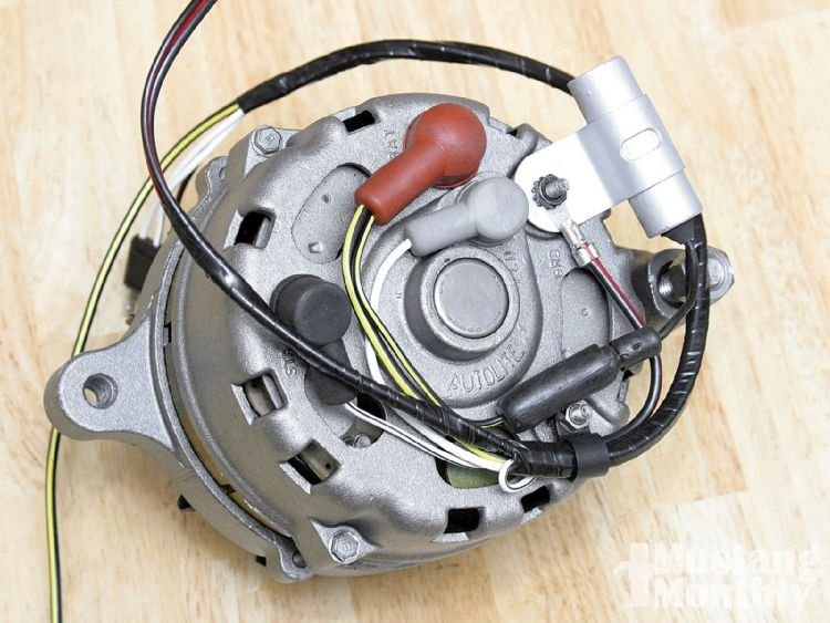 1967 Ford Mustang Alternator 7078 Connection Problem