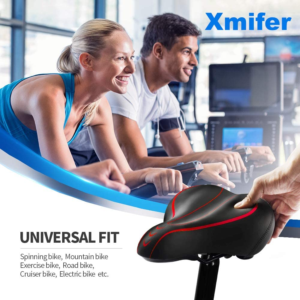 Best for Fat Guys Xmifer Oversized Bike Seat 2021 for you