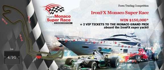IronFX Monaco Super Race 2015 Bigest Forex Contest Live
