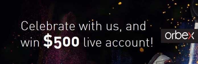 Get $500 Forex draw bonus into live account