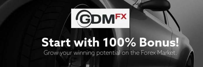 GDMFX 100% Forex and Binary Bonus