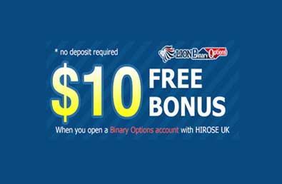 Free $10 No Deposit Binary Options – Hiroseuk