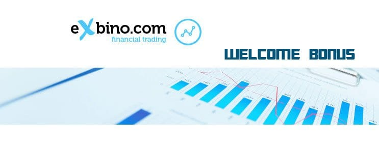 eXbino Up to 100% Welcome Bonus Binary Options
