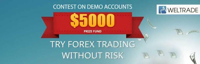 WelTrade Forex Trader Demo contest