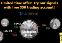 CM Trading no-deposit trading bonus signals