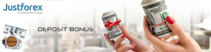 JustForex Double Benefit Deposit Bonus