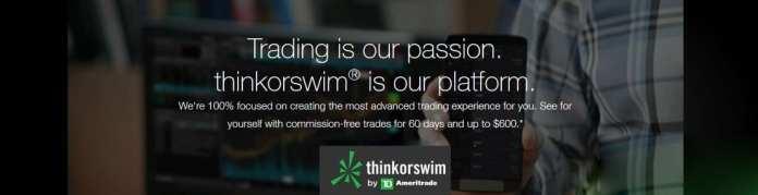 Thinkorswim Commission-Free treades