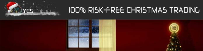 YesOption Risk-Free Christmas Trading