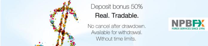 npbfx deposit bonus