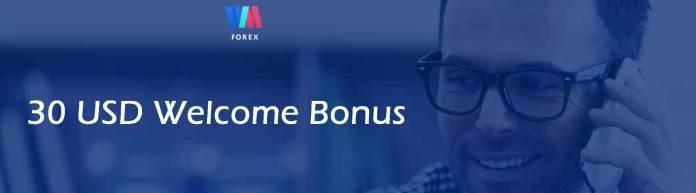 wmforex welcome bonus