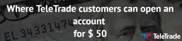 TeleTrade No Deposit bonus
