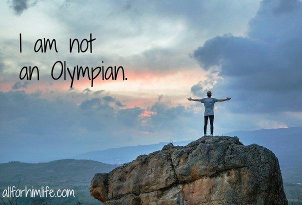 not olympian