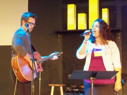 Clay and Valerie making beautiful music together