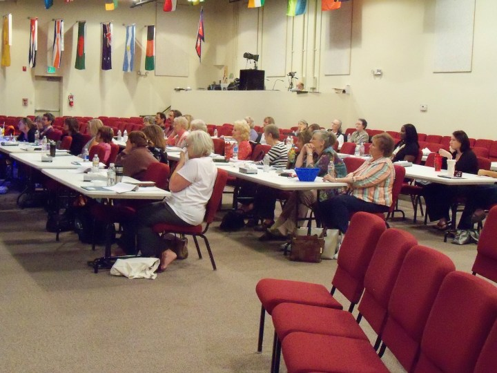 Some of the seminar attendees