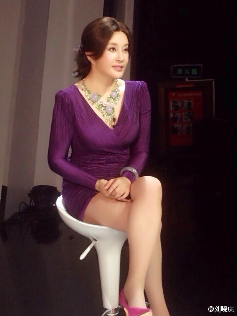 Liu Xiaoqing is 68 years old. (not sure when this was taken…but dayum!)