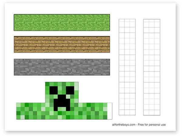 minecraft printable images # 17