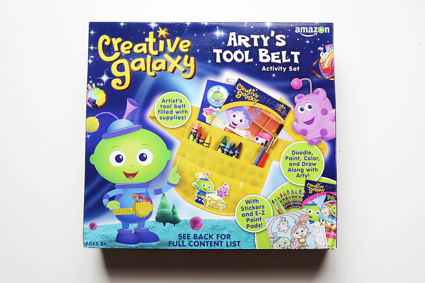 Creative Galaxy Arty S Tool Belt Diy Heart Day Pop Up