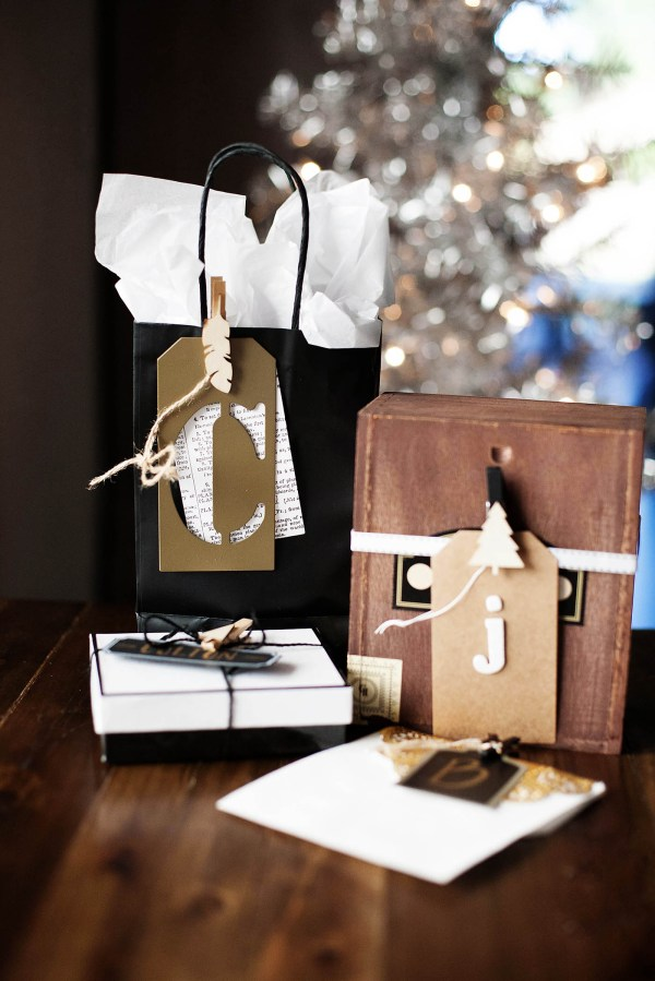 Gift Wrapping with Craft Supplies - All for the Memories