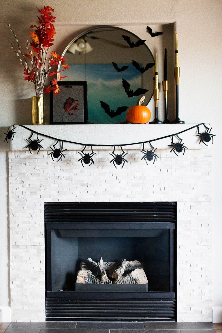 Setting a foundation of holiday decor makes switching out accessories for each holiday super simple!