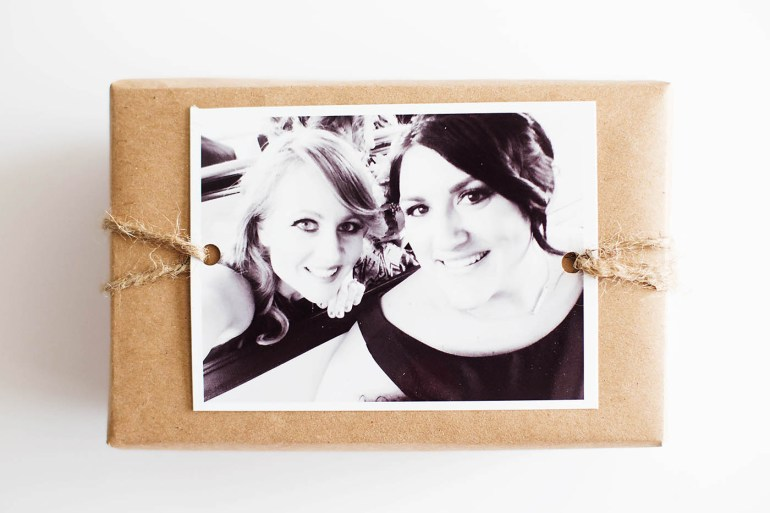 Personalized gift wrapping for the perfect gift - plus free printable tags!