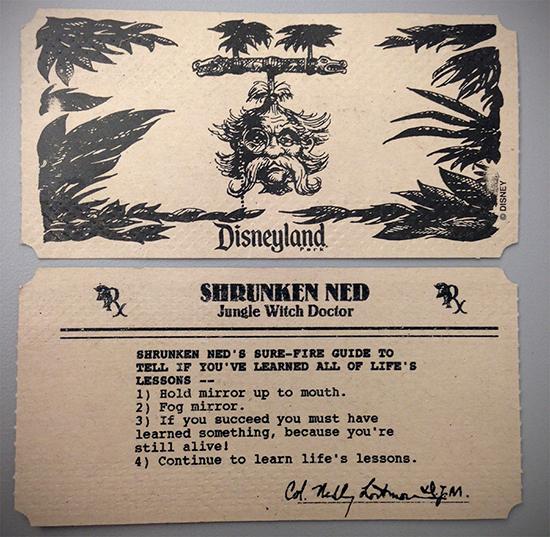 Shrunken Ned