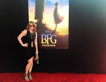 The BFG red carpet premiere