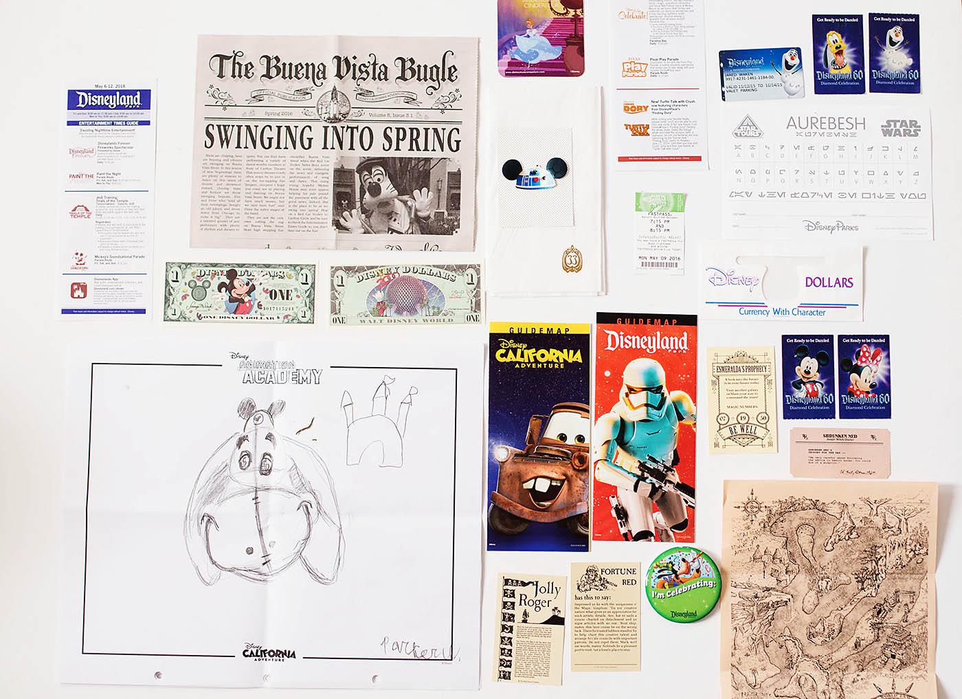Memorabilia to collect at Disneyland