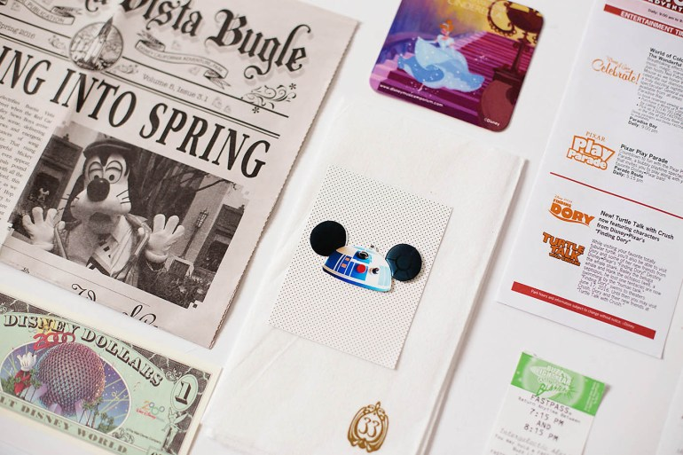 Memorabilia to collect at Disneyland