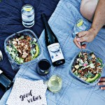 Outdoor date night idea with The Seeker wines