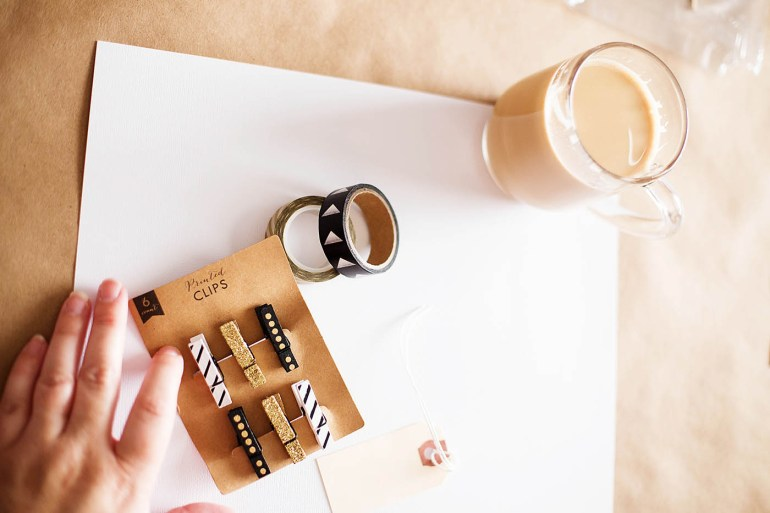 Coffee and scrapbooking - a fun party idea for a get together with friends.