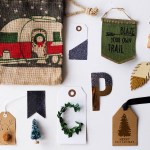 Semi-homemade gift tags and 14 ways to use a lint roller