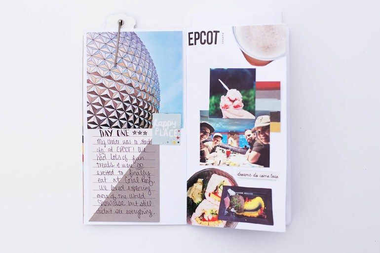 Walt Disney World and Disney Cruise travel notebook from Allison Waken at All for the Memories